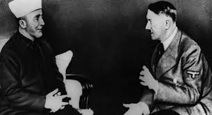 Adolf Hitler with Grand Mufti Haj Amin el Husseini of Jerusalem.